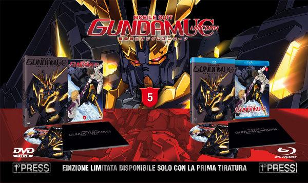 Gundam Unicorn 5 in arrivo!