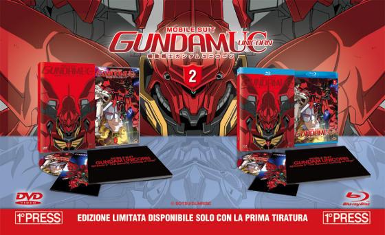 Un unboxing di Gundam Unicorn