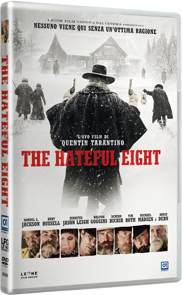 Packshot ufficiali di The Hateful Eight!