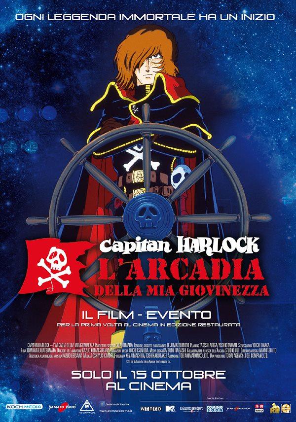 UPDATE Capitan Harlock: il poster ufficiale!