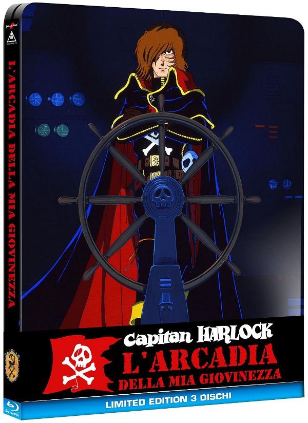 Confermata la Steelbook per Capitan Harlock!