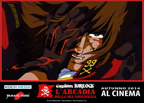 Capitan Harlock al cinema... l'originale!