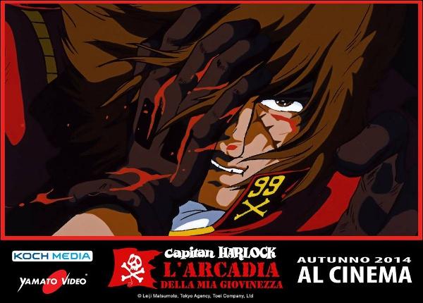 Capitan Harlock al cinema... l'originale!