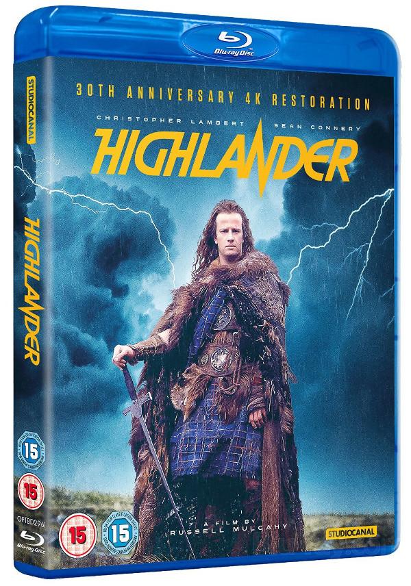 Nuova edizione inglese per Highlander!