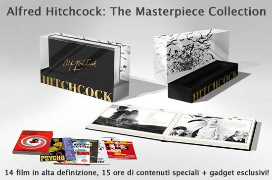 Alfred Hitchcock The Masterpiece Collection Blu-Ray Edizione Limitata