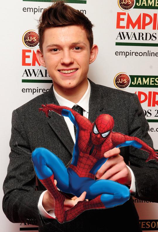 Tom Holland è Spider-Man!