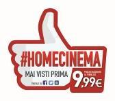 Una collana di inediti per l'#Homecinema!