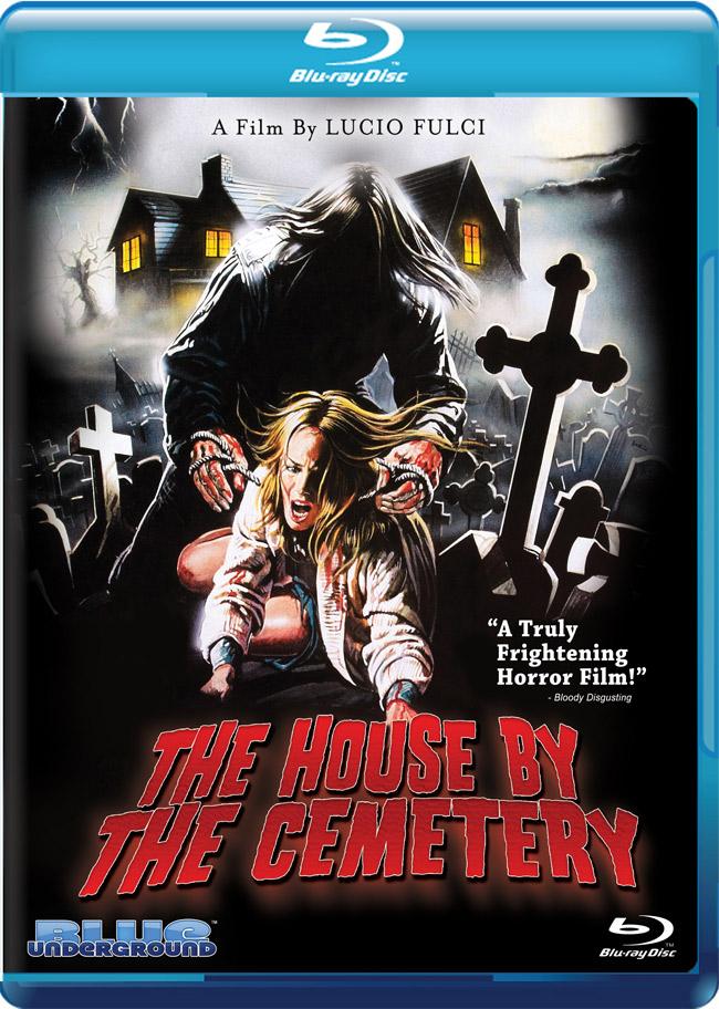 In America il Blu-Ray di Quella villa accanto al cimitero!