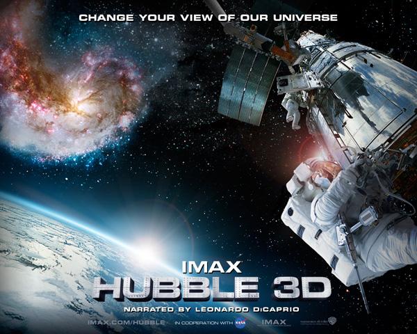 In attesa di Gravity, ecco Hubble 3D!