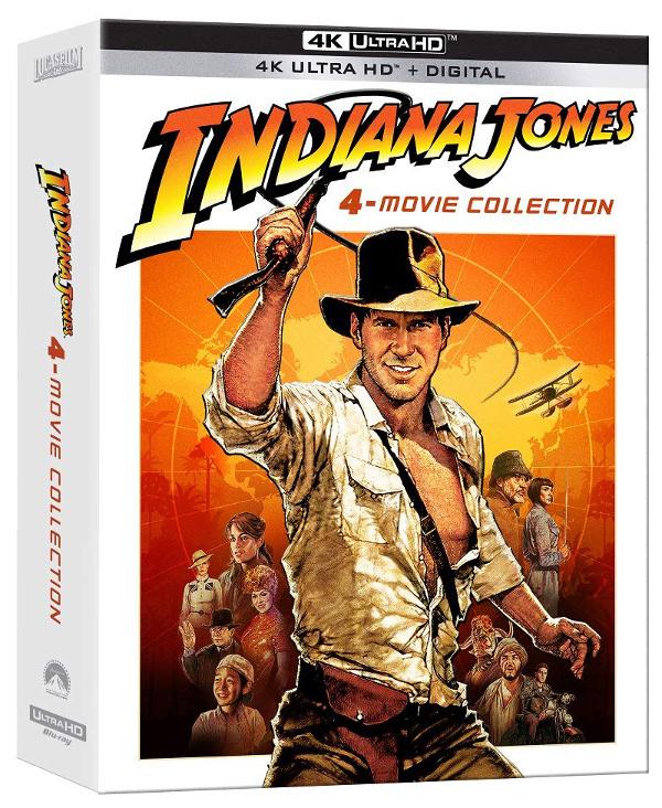 Annunciato Indiana Jones in 4K!