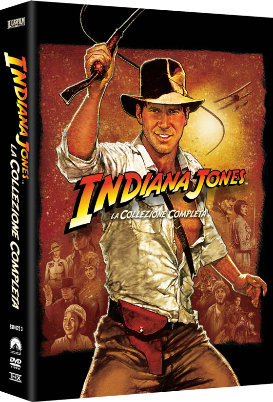 Riecco Indiana Jones - The Complete Adventure!!