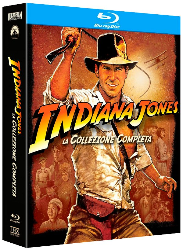 Indiana Jones Blu-Ray Disc a settembre!