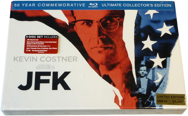 JFK: Ultimate Edition Usa + Blu-Ray italiano!