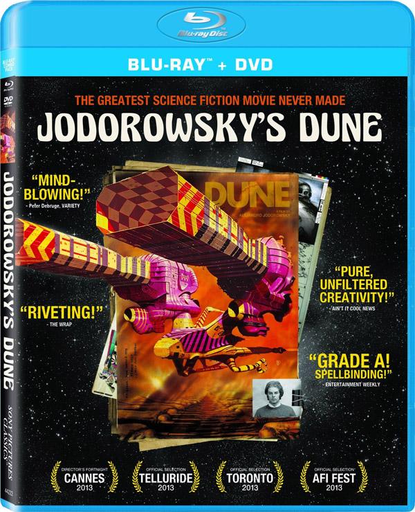 Jodorowsky's Dune in Blu-Ray!