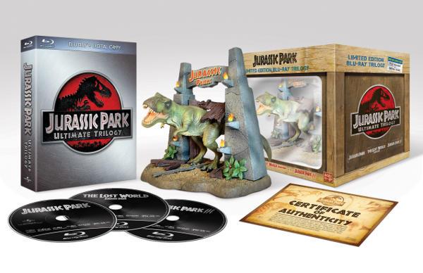 Jurassic Park Trilogy Blu-Ray a novembre in Italia!