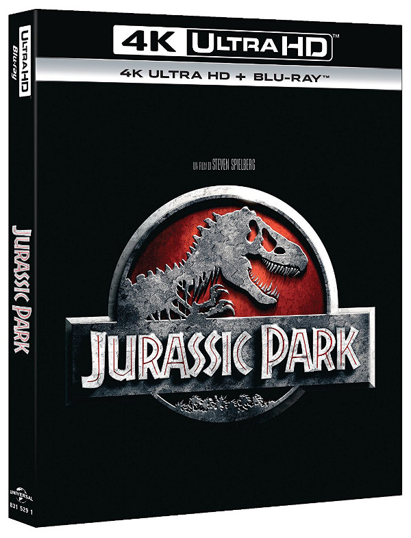 Tutto Jurassic Park in 4K e Steelbook!