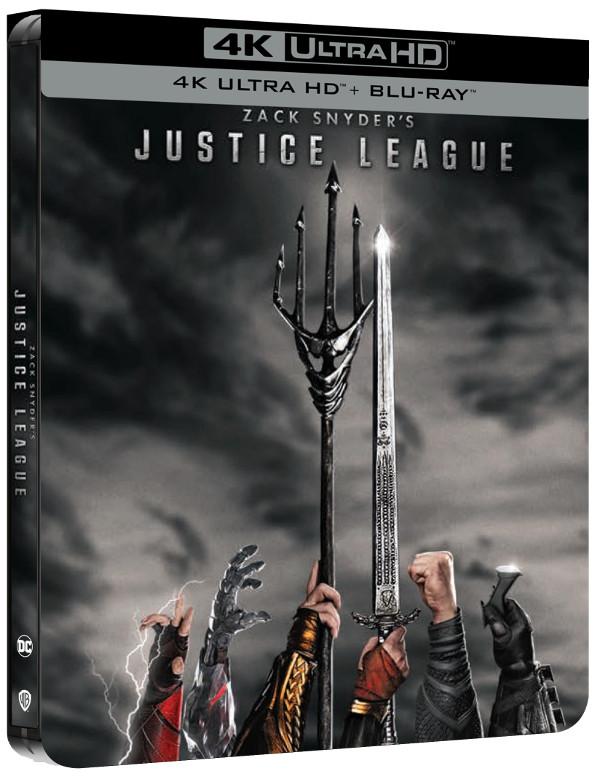 Zack Snyder's Justice League: le edizioni a catalogo!
