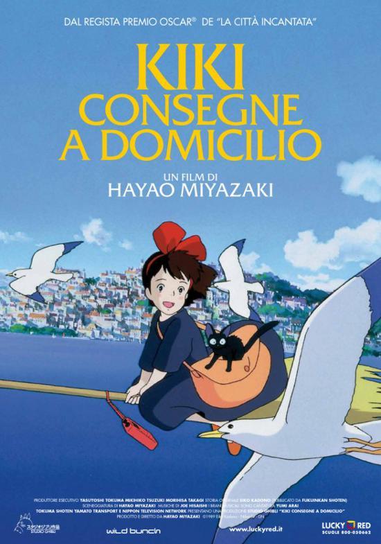 Il nuovo Ghibli al cinema è Kiki di Miyazaki!