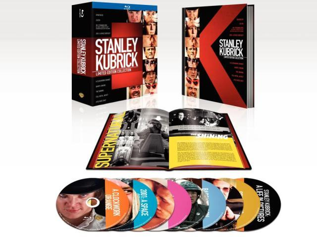 Sempre più Kubrick: limited edition collection Blu-Ray!