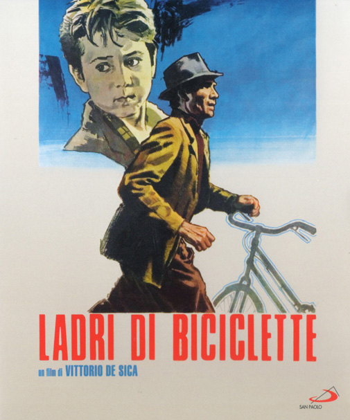 Il Blu-Ray di Ladri di biciclette