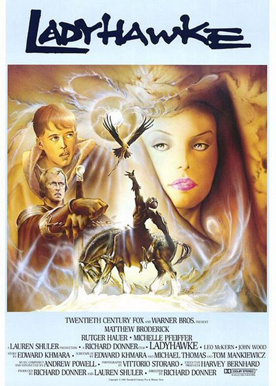 Il Blu-Ray di Ladyhawke!