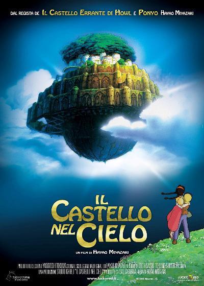 Il poster italiano di Laputa di Miyazaki!