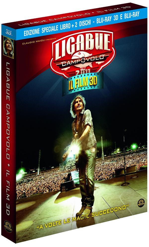Anteprima Ligabue: Campovolo a marzo in Blu-Ray 3D!