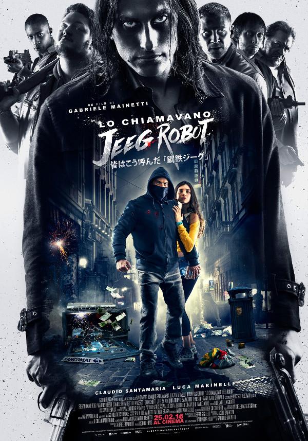 Nuovo trailer per Lo chiamavano Jeeg Robot!