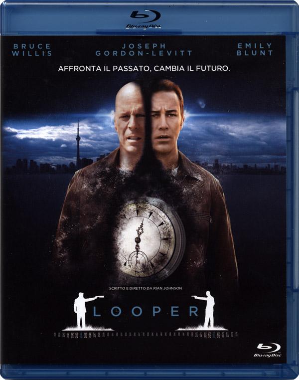 Looper: un Blu-Ray che viene dal passato?