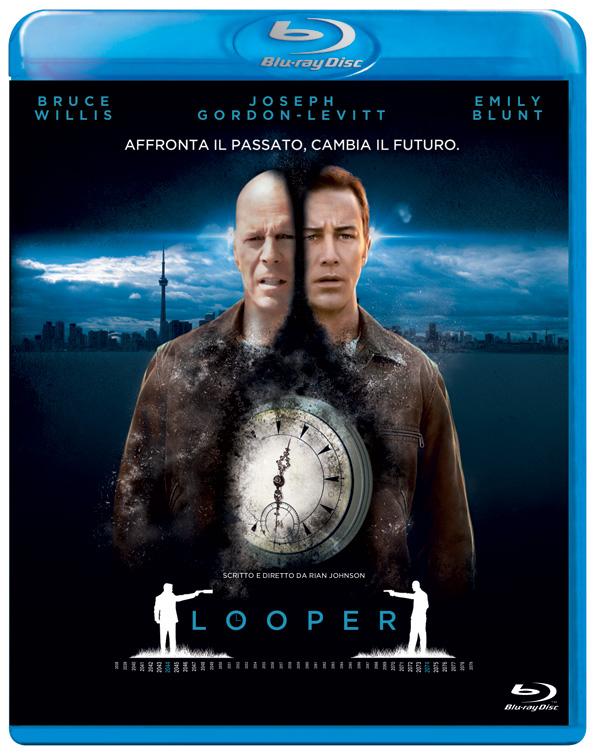 Il nuovo Blu-Ray di Looper...