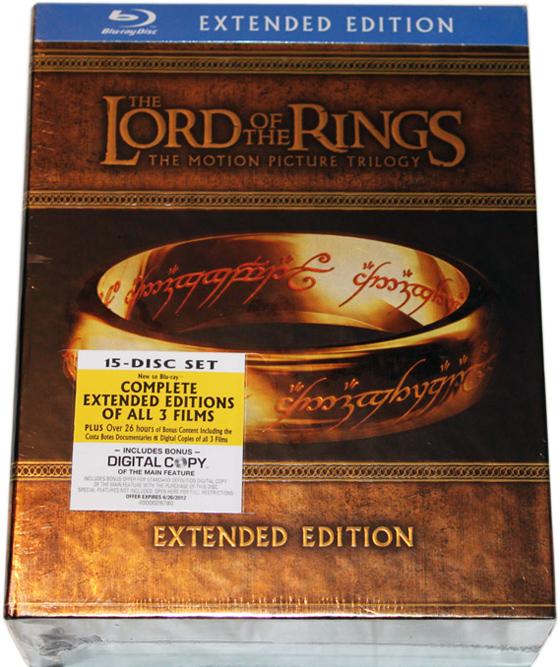 Blu-Ray LOTR Extended: le foto del cofanetto!!