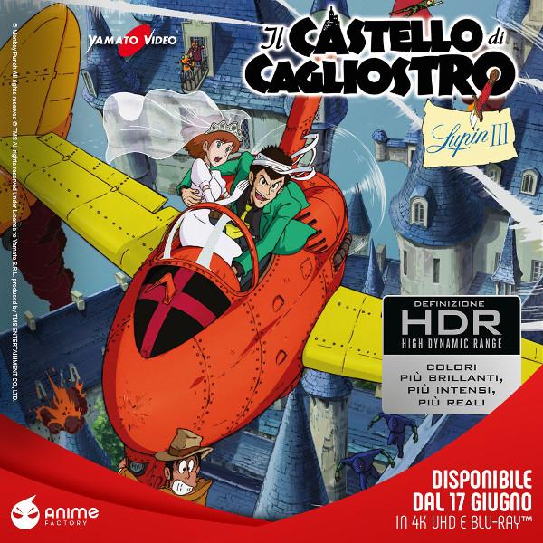 Il castello di Cagliostro in Blu-Ray 4K!