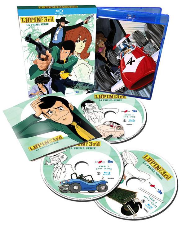Lupin III in Blu-ray con un piccolo cambiamento!