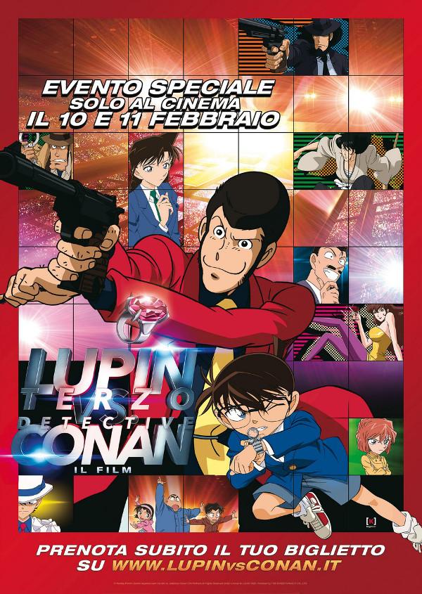 Lupin III di nuovo al cinema (con Detective Conan)!