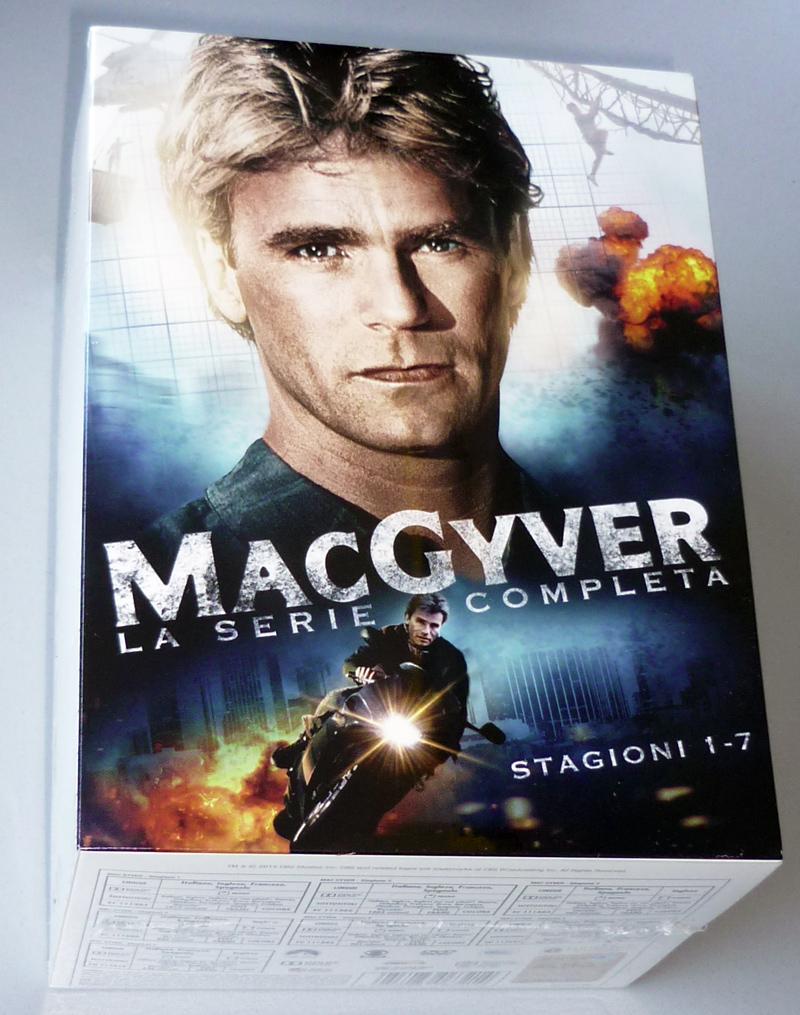 Il cofanetto di MacGyver e...