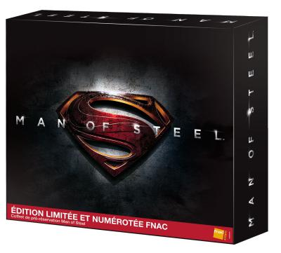 Limited francese in Blu-Ray per Man of Steel
