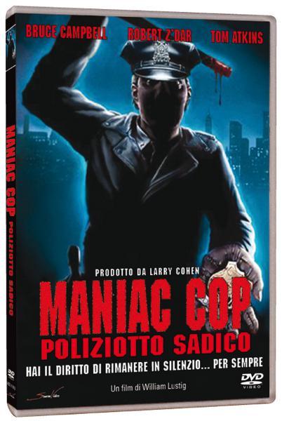 Tutta la trilogia di Maniac Cop in DVD!