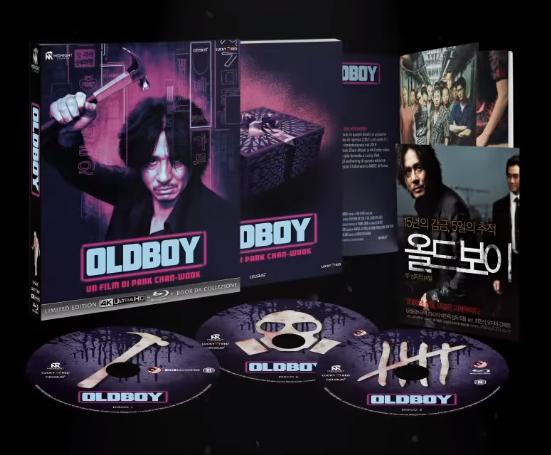 Riecco i Midnight Classics: Oldboy in 4K!