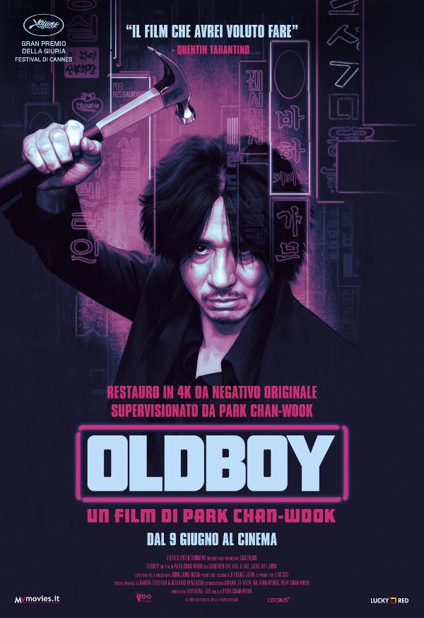 Oldboy in UHD e anche al cinema!