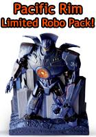 Pacifim Rim - Edizione Limitata + Robot - Blu-Ray e Blu-Ray 3D. In prenotazione su www.dvdweb.it
