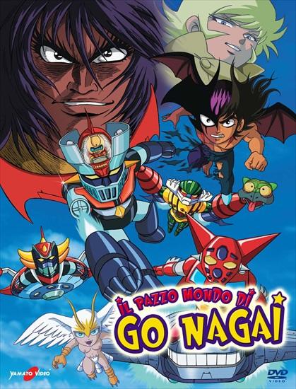 Il pazzo mondo di Go Nagai a catalogo!