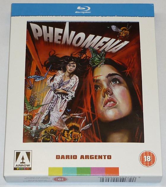 Blu-Ray di Phenomena: l'unboxing!