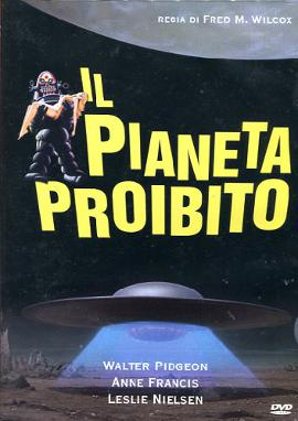 E' uscito Il pianeta proibito in DVD!