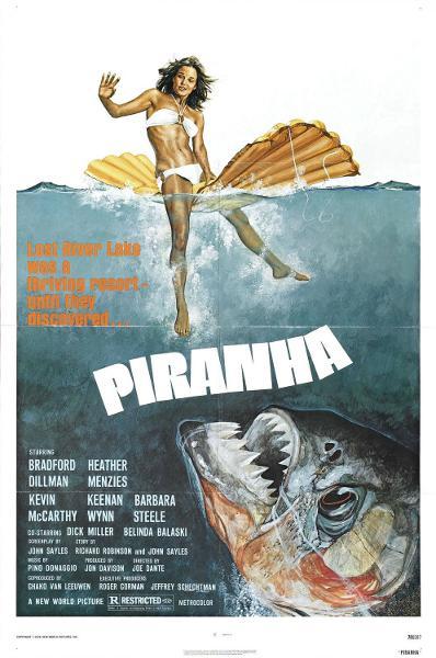 Dallo Squalo ai Piranha!