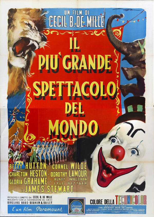 Il più grande spettacolo di Cecil B. DeMille!