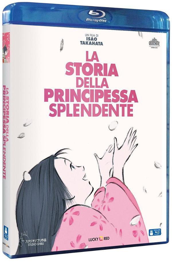 La storia della Principessa Splendente in Blu-Ray e DVD