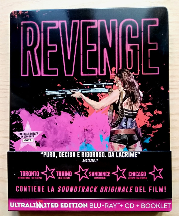Photogallery di Revenge Ultralimited Steelbook!
