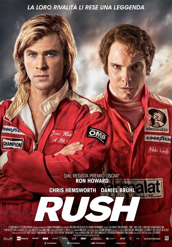 Rush: Niki Lauda sorpassa Thor!