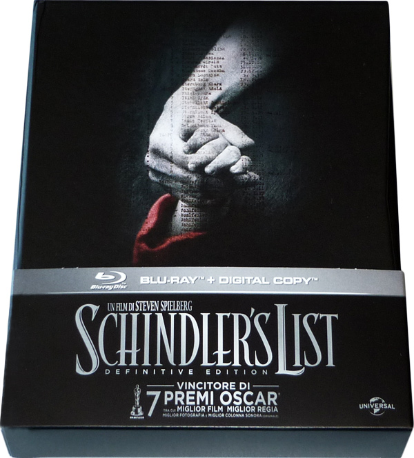 Ed ecco la Schindler's List - Limited Definitive Edition!