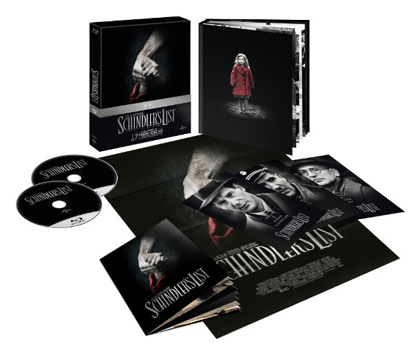 Schindler's List Blu-Ray in Italia dal 10 aprile!